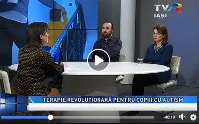 Cu bucurie am deschis ieri usa centrului nostru doamnei jurnalist Maria Florea si echipei de filmare de la TVR Iasi, emisiunea Actual Regional